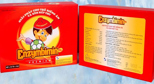 Enzymbimin - giúp trẻ hết biếng ăn