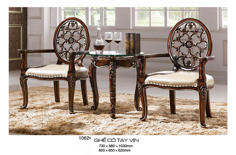 Kích thước bàn ghế gỗ phòng khách nhỏ giá rẻ