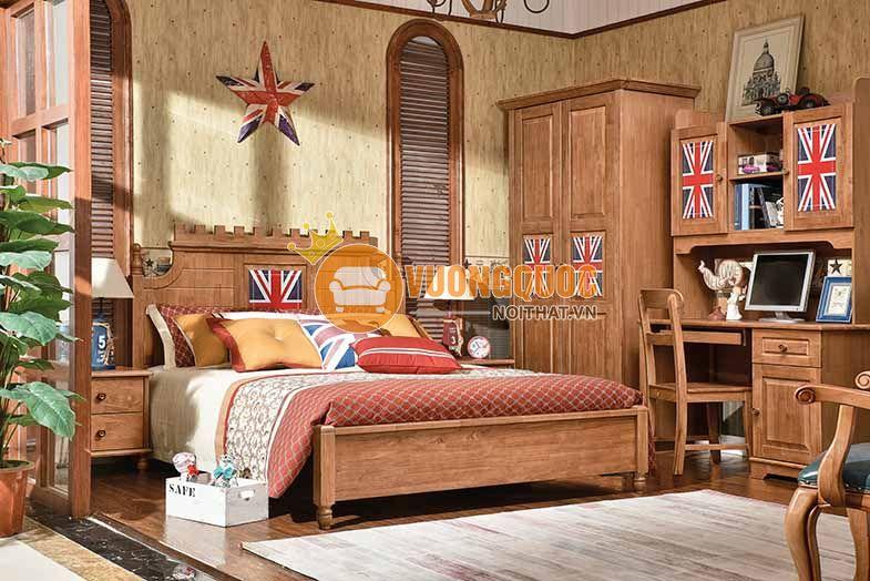 Bộ phòng ngủ bé trai cờ Mỹ JYC217