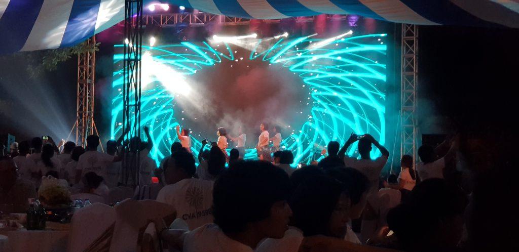 Dự án thi công màn hình LED tại trường THPT Chu Văn An