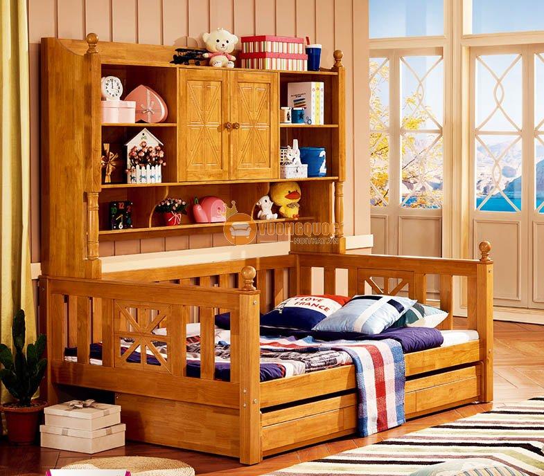 Giường 2 tầng kết hợp tủ đựng đồ cao cấp