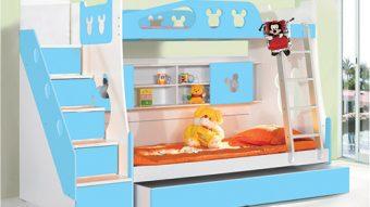 Hướng dẫn sử dụng giường tầng đa năng đẹp cho bé trai an toàn