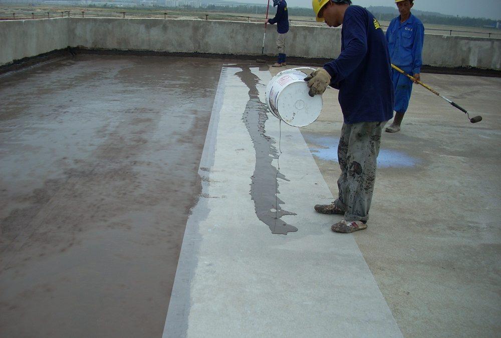 Chống thấm dột tại Hà Nội bằng các vật liệu chống thấm chất lượng cao