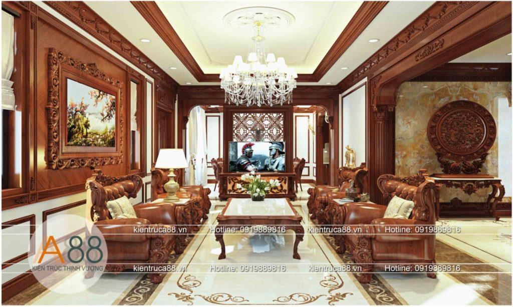 công ty chuyên thiết kế thi công nội thất biệt thự