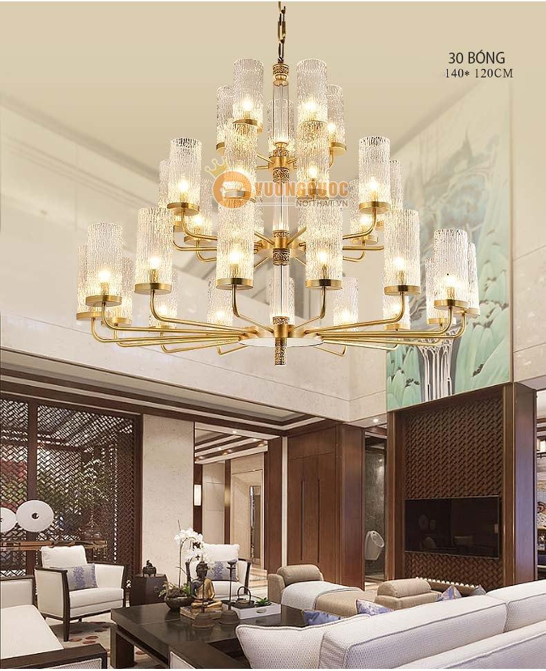 Đèn chùm trang trí của Vương quốc nội thất