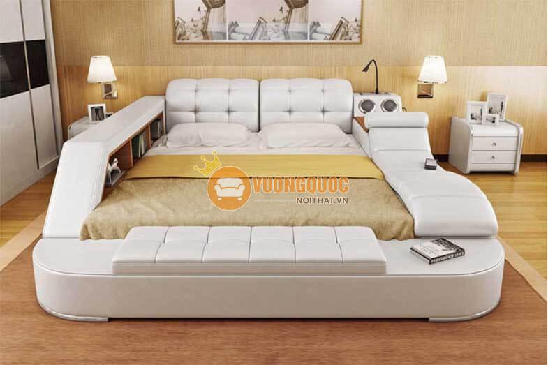 Điểm cộng trong thiết kế giường massage Hàn Quốc