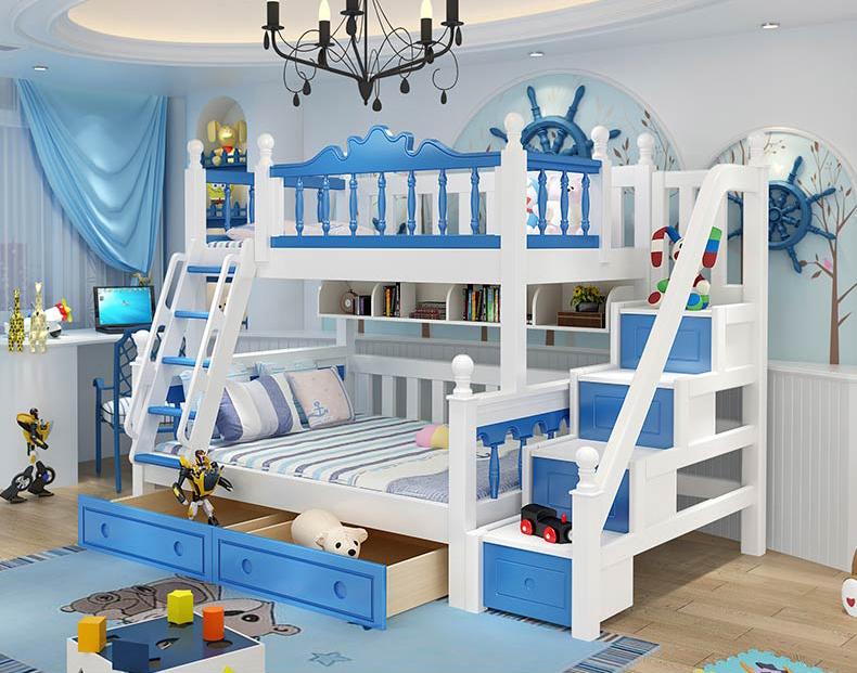 Thiết kế giường tầng trẻ em thông minh