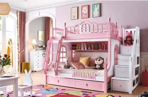 Những khó khăn khi lựa chọn giường tầng cho bé gái ở Hà Nội