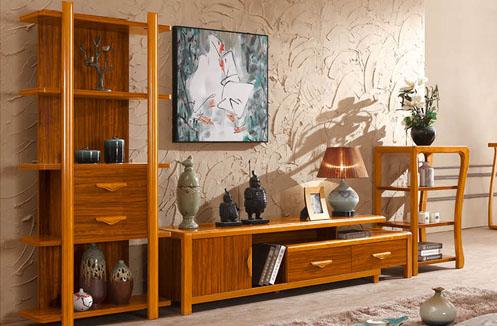 Mẫu kệ để tivi đẹp bằng gỗ tự nhiên đơn giản