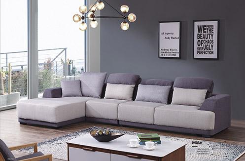 Sofa phòng khách nỉ dáng hiện đại