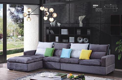 Sofa vải nỉ nhập khẩu cao cấp