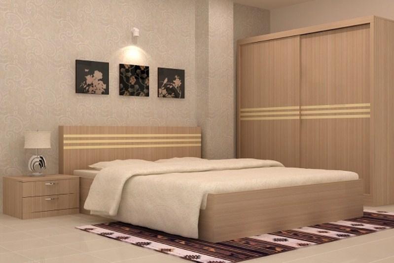 Ưu điểm của giường ngủ gỗ ép