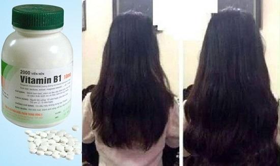 Vitamin B1 trị rụng tóc
