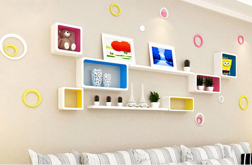 Giá trang trí treo tường - tạo điểm nhấn cho không gian