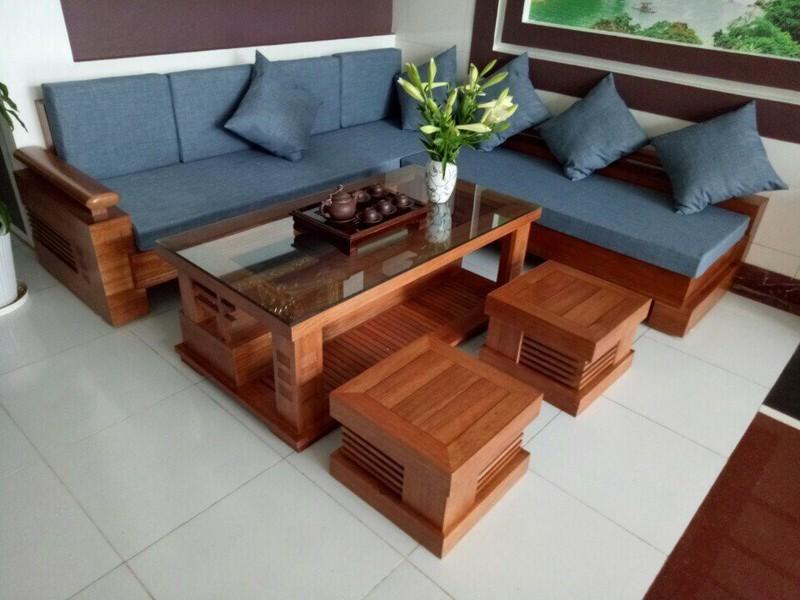 Ưu điểm nổi bật của bộ bàn ghế sô pha gỗ