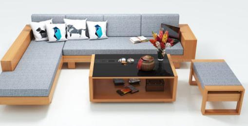 Sofa gỗ công nghiệp là gì?