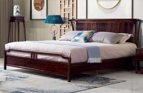 Giường ngủ nhập khẩu phong cách đồng quê CDT 8A602