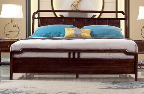 Giường ngủ nhập khẩu phong cách thanh lịch CDT 8A603