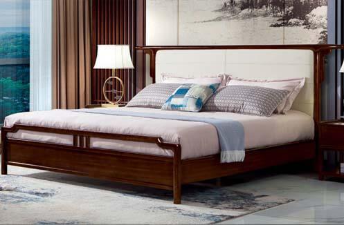 Giường ngủ nhập khẩu trang nhã CDT 8A601