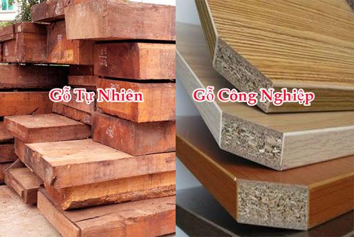 Nên mua giường gỗ công nghiệp hay gỗ tự nhiên?